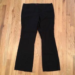 Torrid black wide leg dress pants size 14R